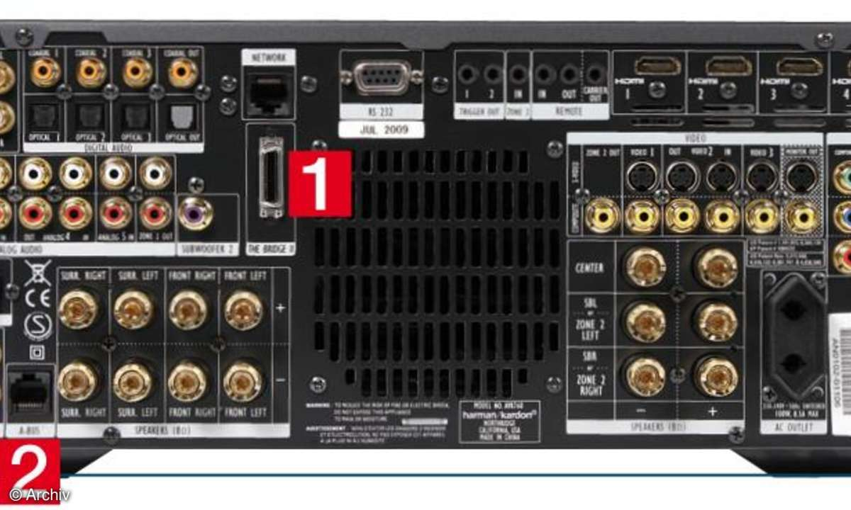 AV-Receiver Harman AVR 760
