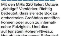 Octave MRE 220 - Bewertung / Testurteil