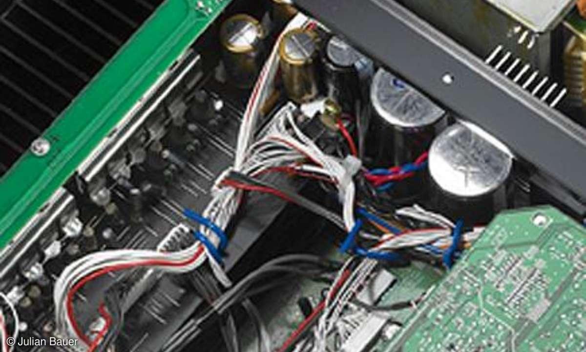 Yamaha RX V 3800 Innenansicht