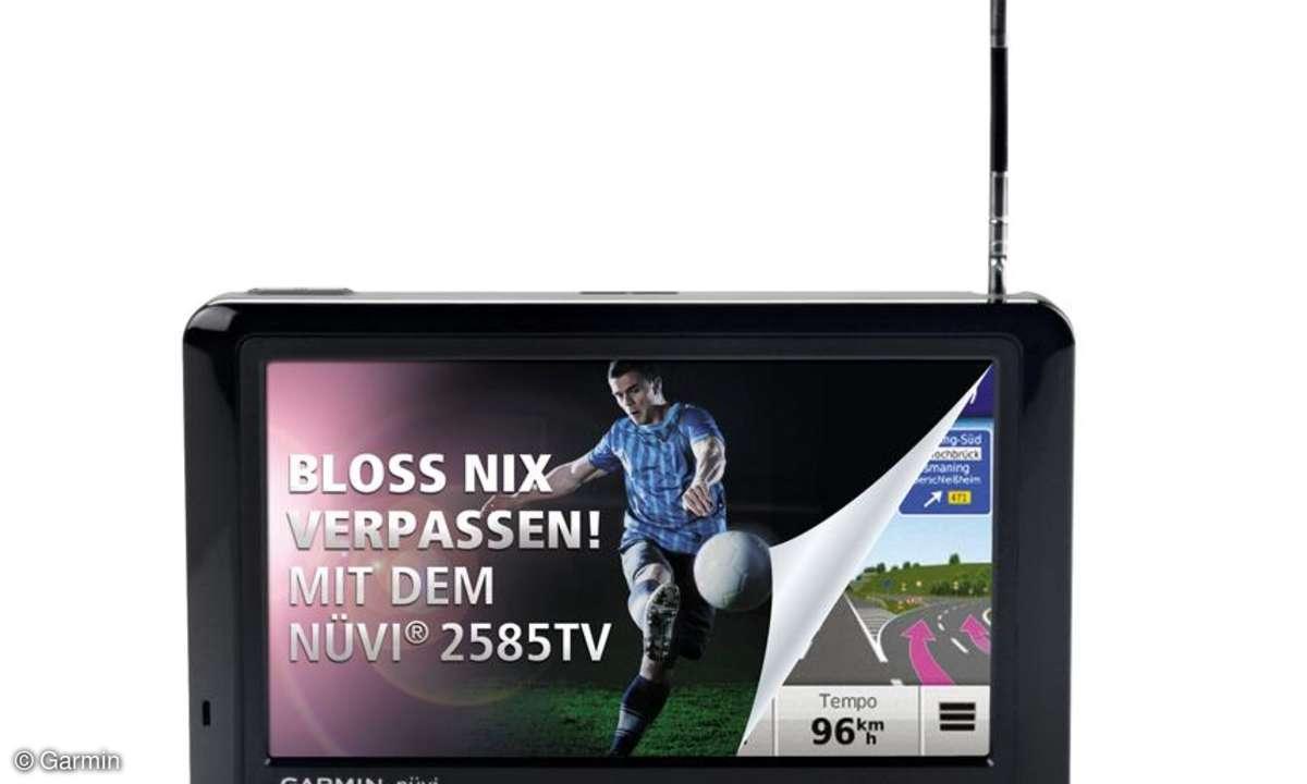 Garmin nüvi 2585TV im Test