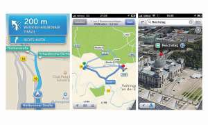 Apple iPhone Karten Navigation