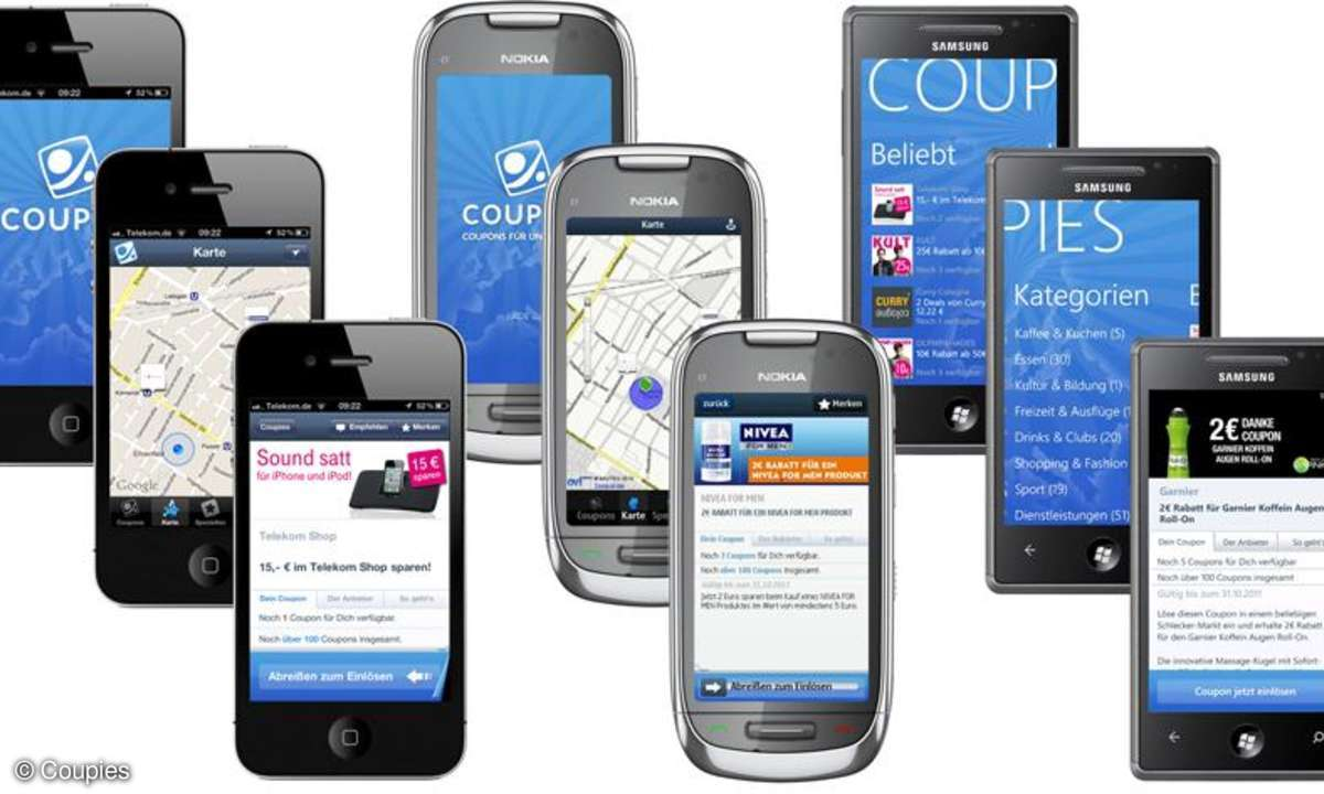 Coupies Mobile Couponing