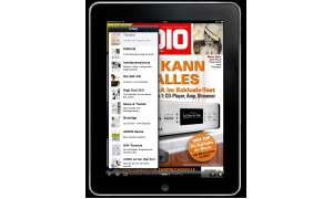 AUDIO, iPad, Apple, App, ausgabe, Magazin, quer