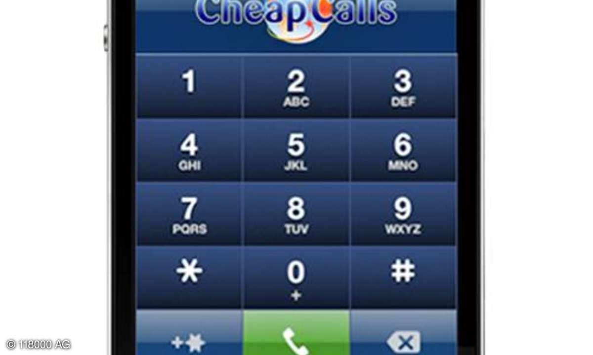 Cheap Calls, iPhone-App