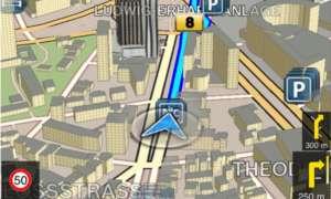Bosch Navi App, iPhone App