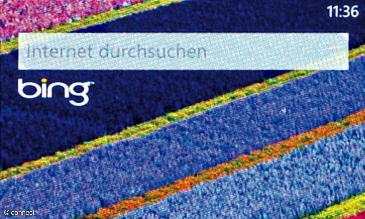 Windows Phone Bing