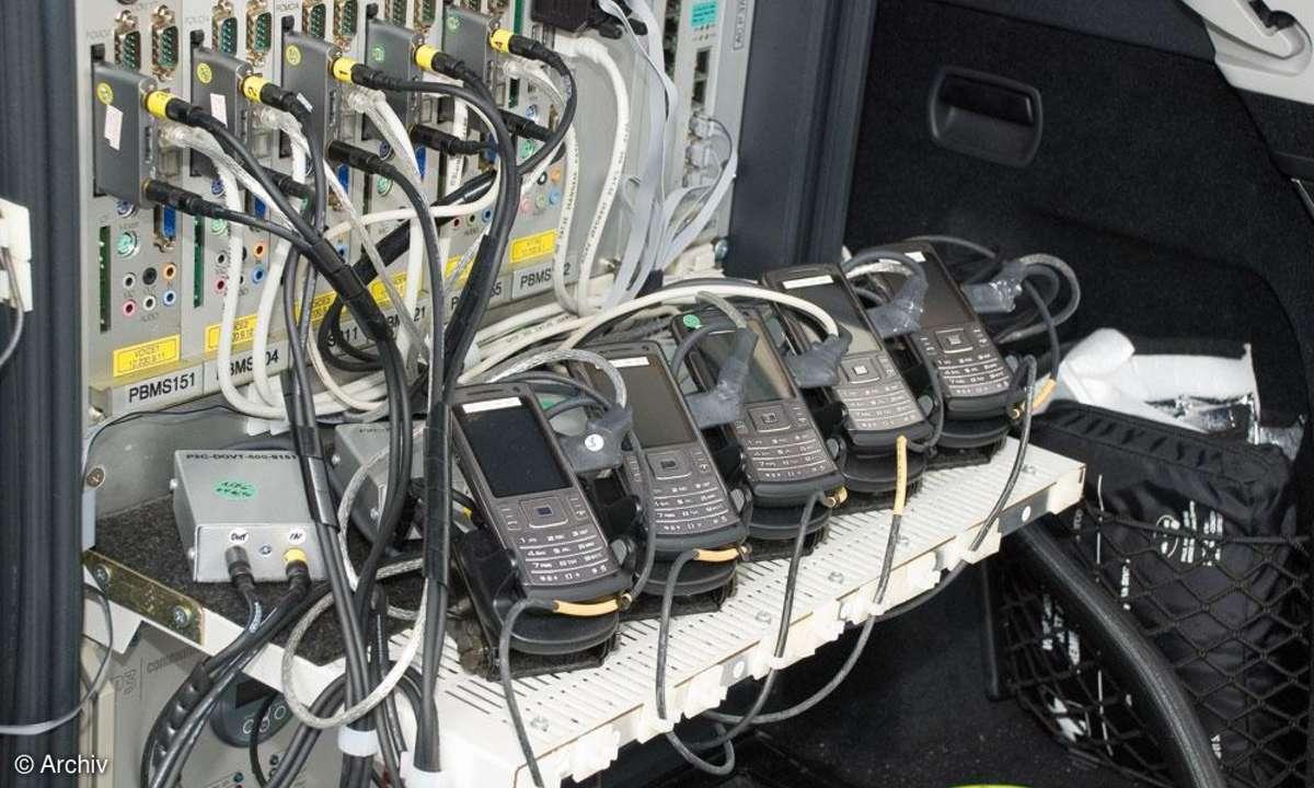 Netztest Messequipment