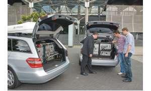 Netztest Testfahrzeuge