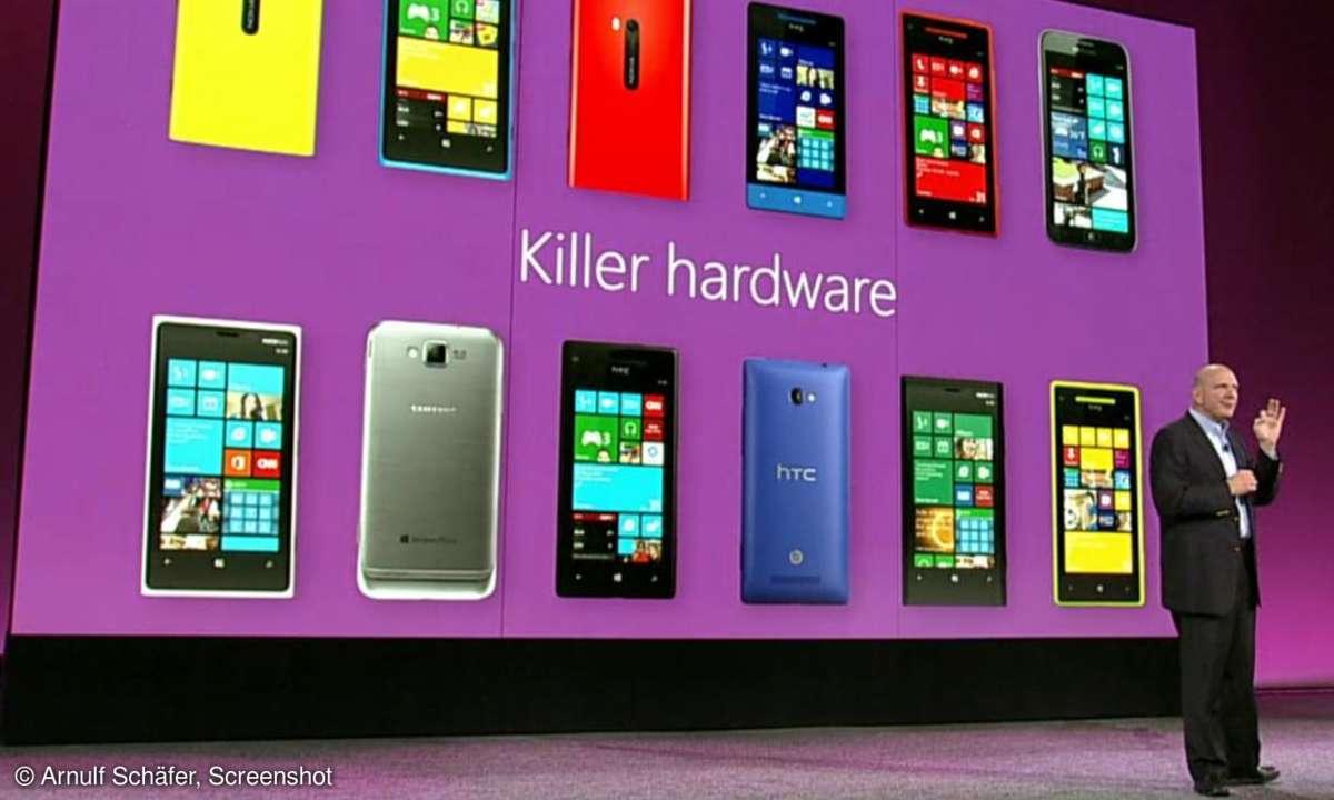 Windows 8 Präsentation San Francisco 2012