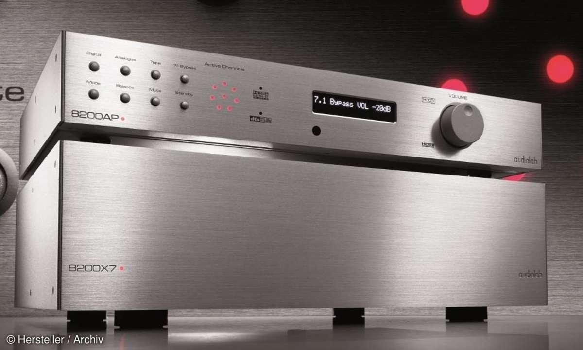 Audiolab 8200AP und Audiolab 8200X7