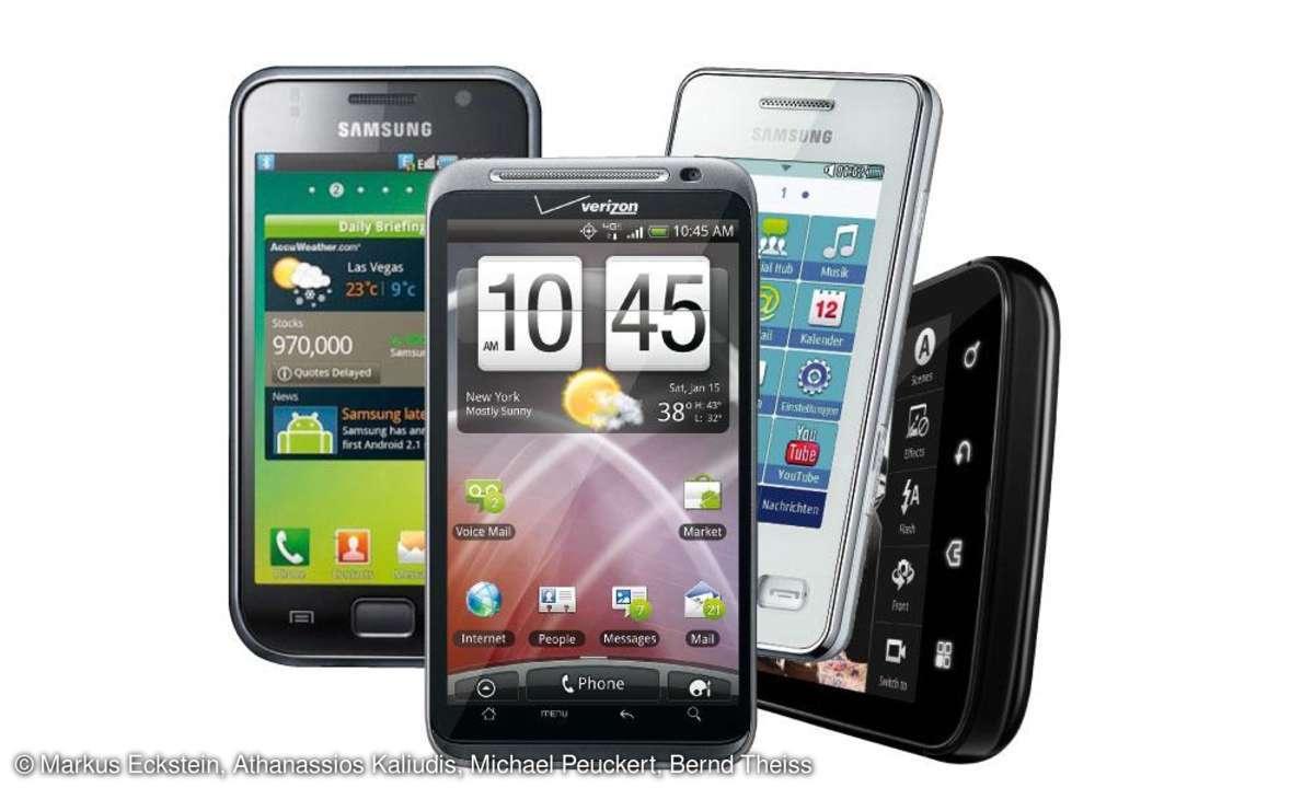 Smartphones und Tablets 2011