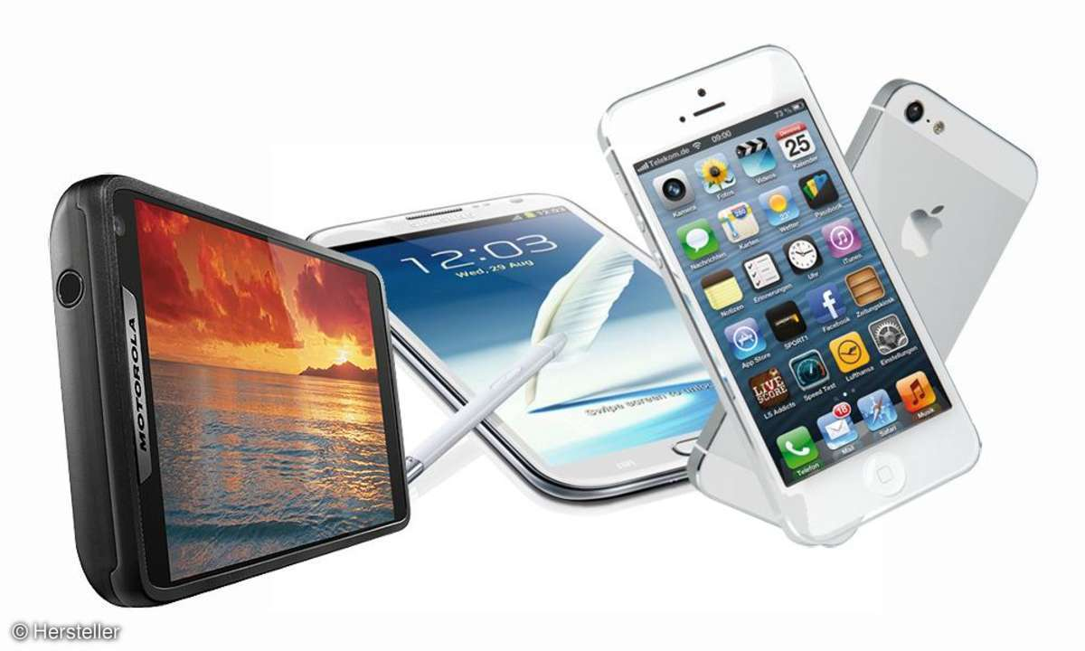 Razr i, Note 2, iPhone 5