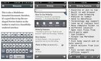 Texteditoren für iPhone und iPad