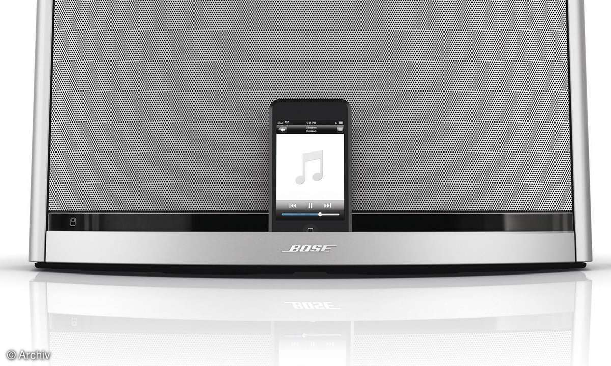 iPod-Dockingstation Bose Sounddock 10