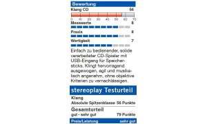 NAD C 546 BEE - stereoplay Bewertung / Testurteil