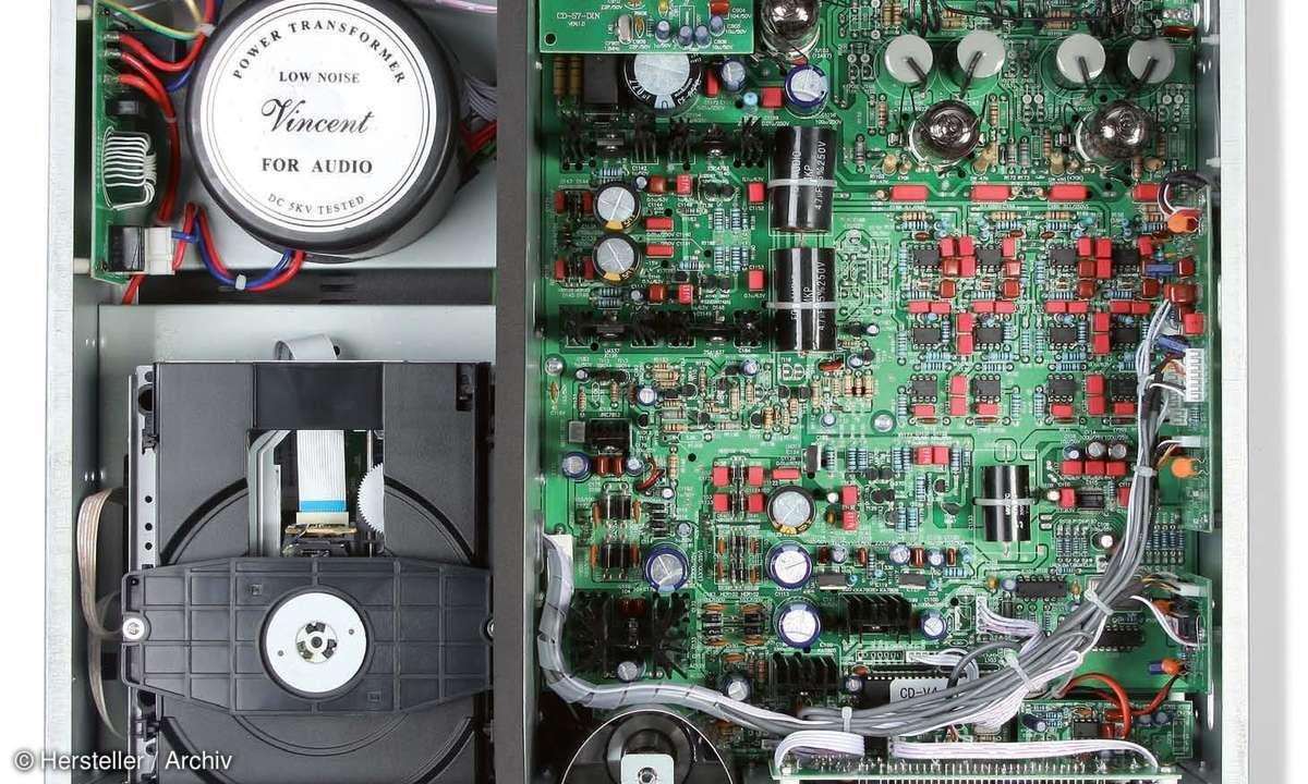 Vincent CD S7 DAC - Platine