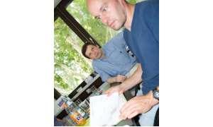 Martin Rehberger und Professor Gerhard Seelmann