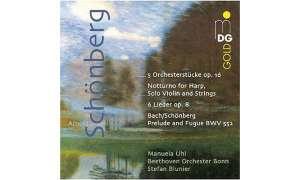 Schönberg - Orchesterstücke & Lieder (Blunier, MDG)