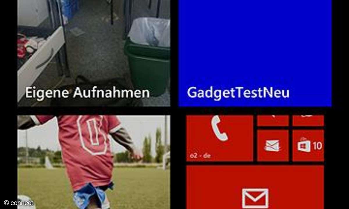 Windows Phone 8 Screenshot erstellen