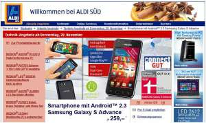 Aldi Süd: Galaxy S Advance im Angeobt