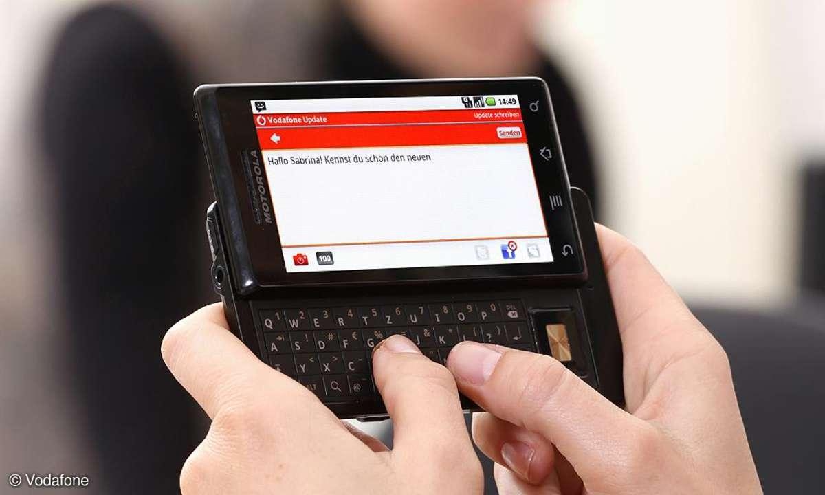 Kurznachricht, SMS