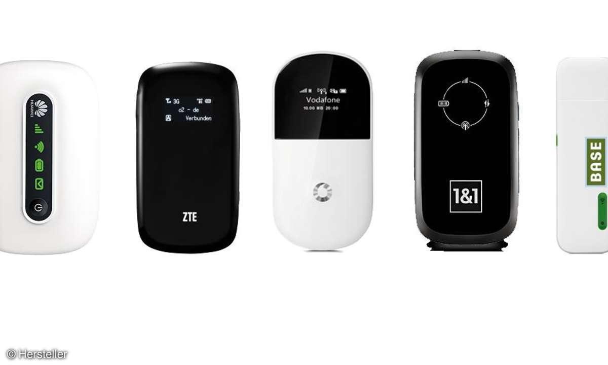 Mobile WLAN-Hotspots