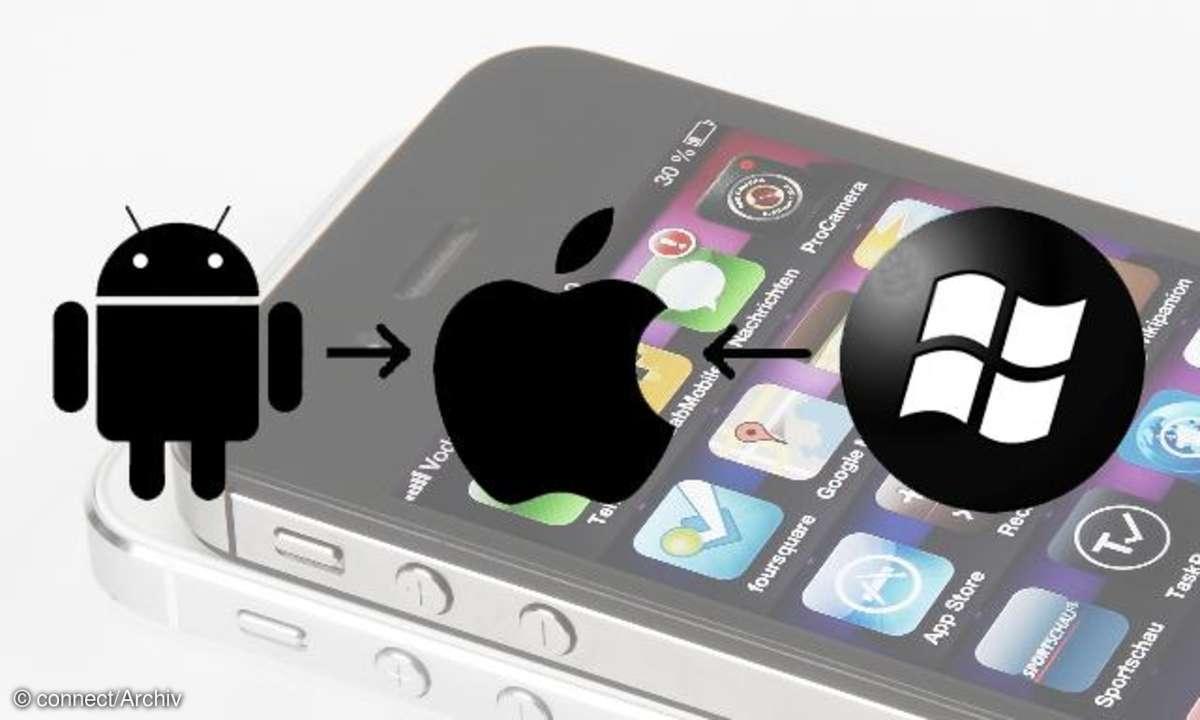 Daten migrieren iOS