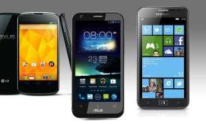 Nexus 4, Padfone 2, Ativ S