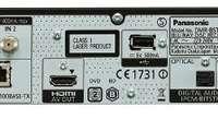 Panasonic DMR BST 820 - Geräte-Rückseite
