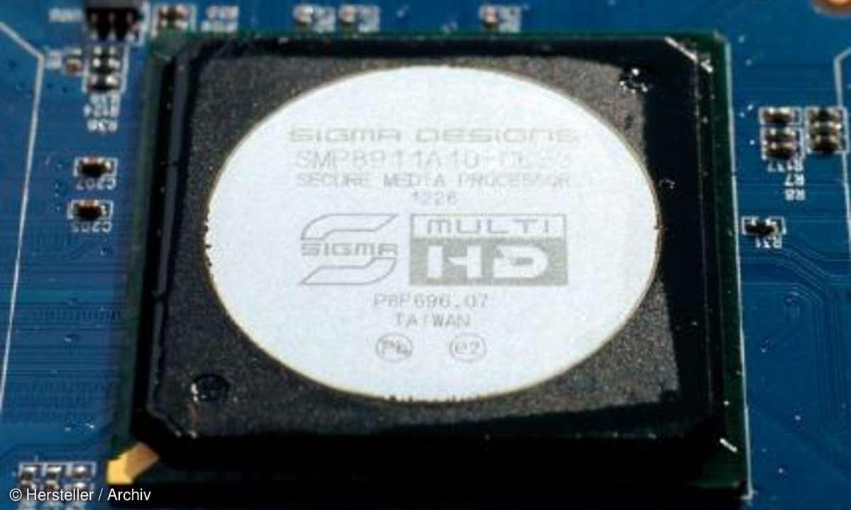 Syabas Decoder-Chip SMP8911