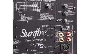 Sunfire True EQ 12 Signature - Anschlüsse