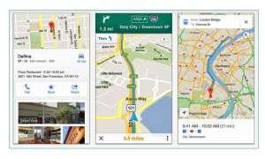 Google Maps für iOS, IOS App