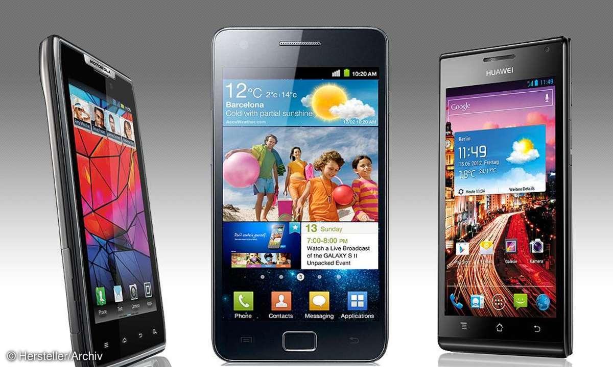 Smartphones bis 350 Euro