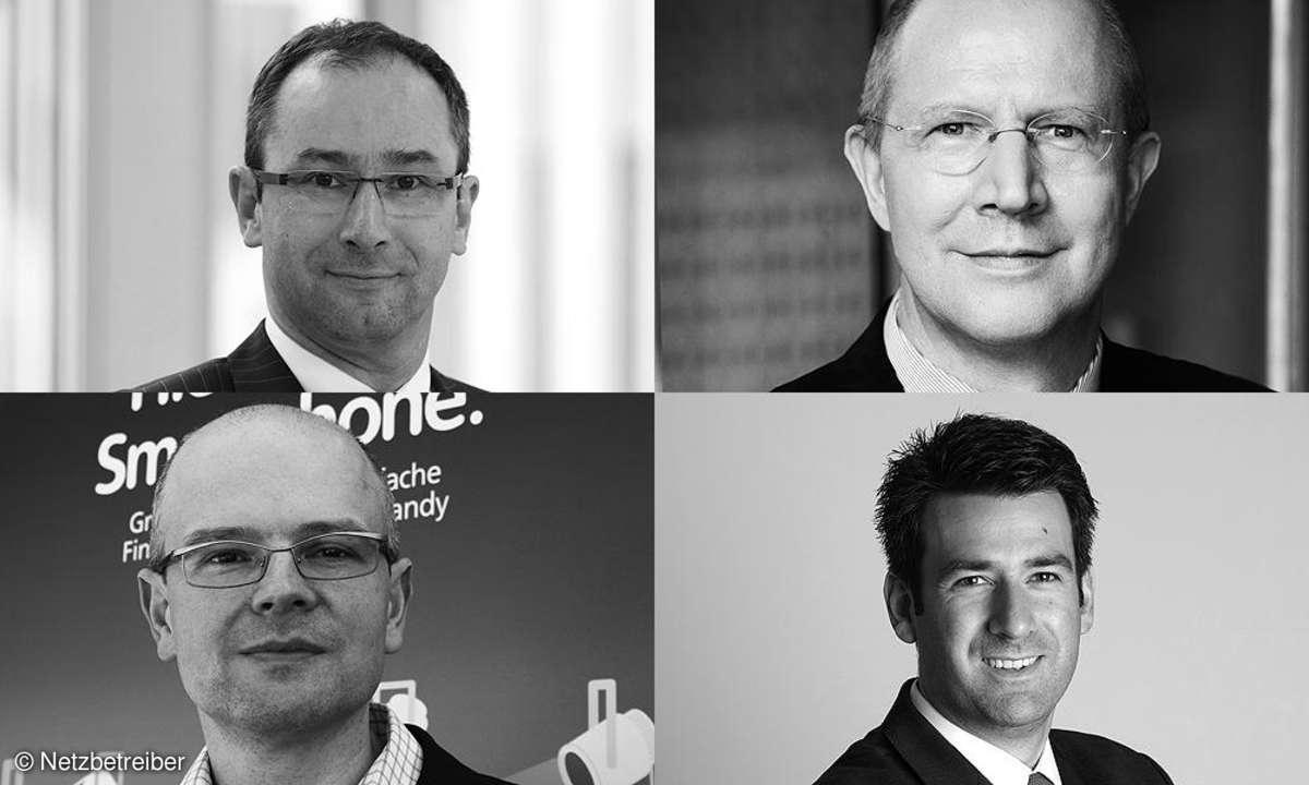 Die vier Netzbetreiber kommentieren die Ergebnisse des deutschen Netztests