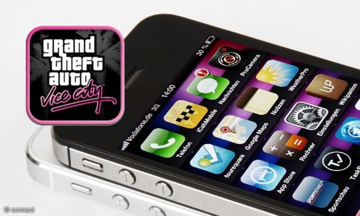 Grand Theft Auto Vice City auf iPhone und iPad