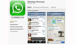 WhatsApp, iPhone, Messenger