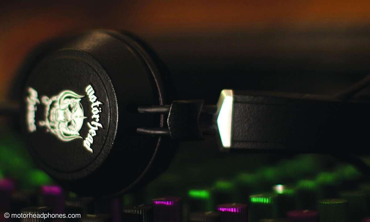 Auf der CES 2013 stellt Motörhead die neue Kopfhörermarke