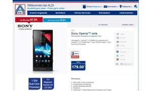 Aldi Nord, Sony Xperia Sola