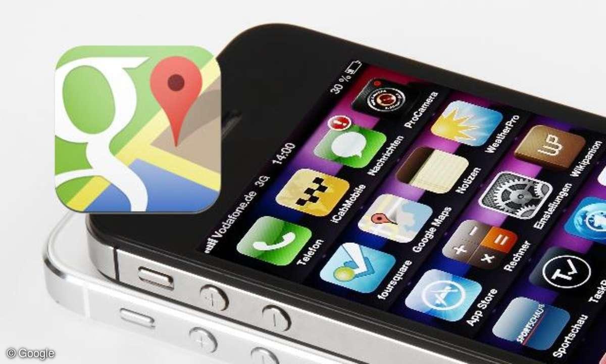 Google Maps für iPhone
