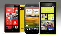 Lumia 820, One VS, HTC 8S