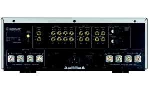 Luxman L505uX - Anschlüße