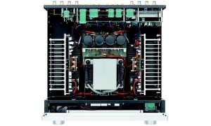 Luxman L505uX - Aufbau