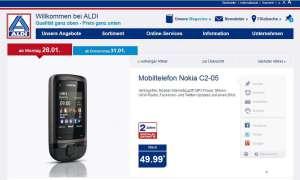 Aldi Aktion, Nokia C2-05