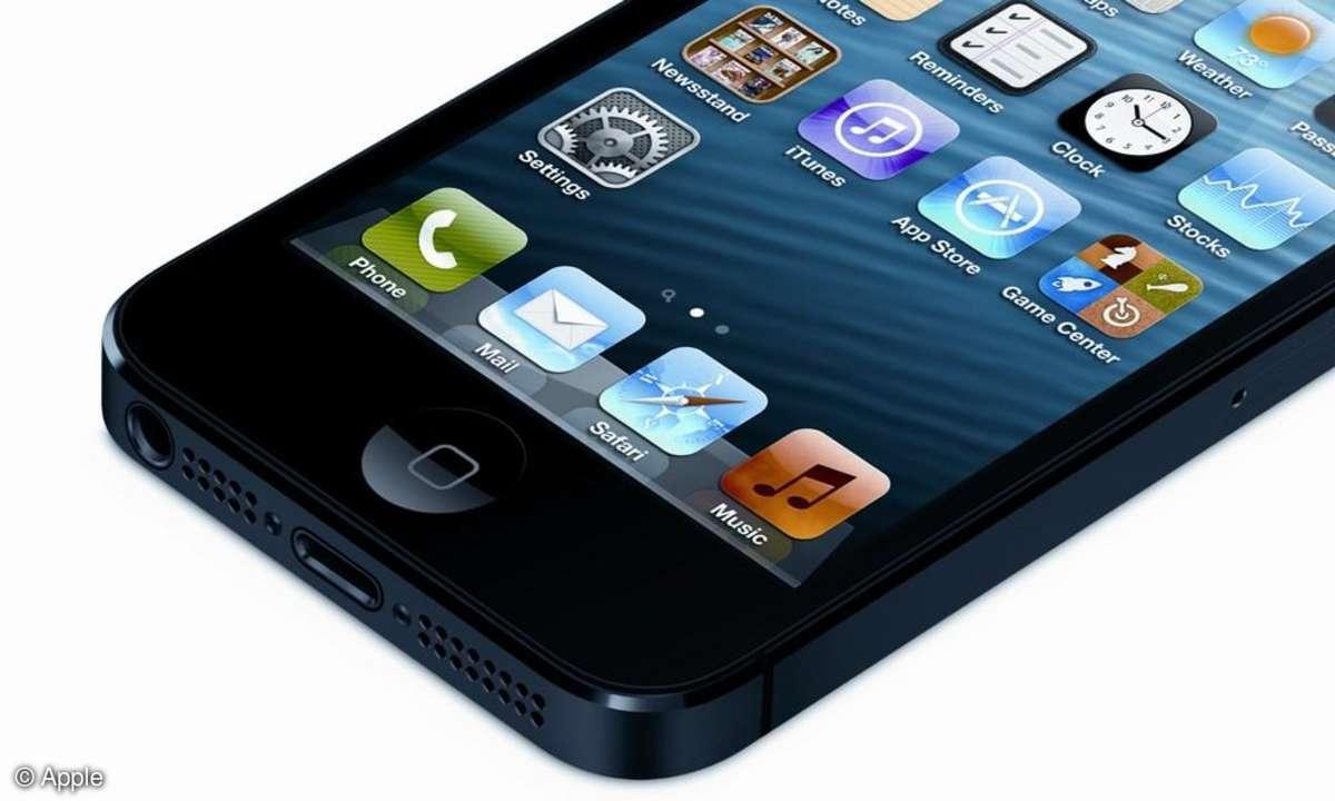 Aufmacher iPhone 5 Einstellungen