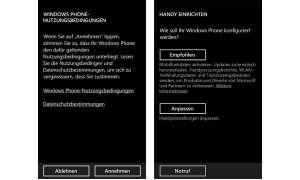 Einstellungen Windows Phone 8