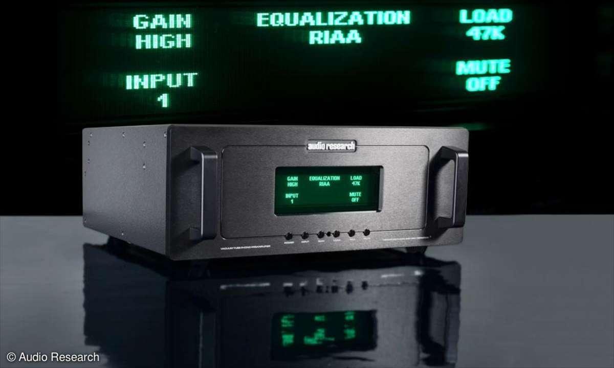 Test REF Phono 2 SE  Audio Research