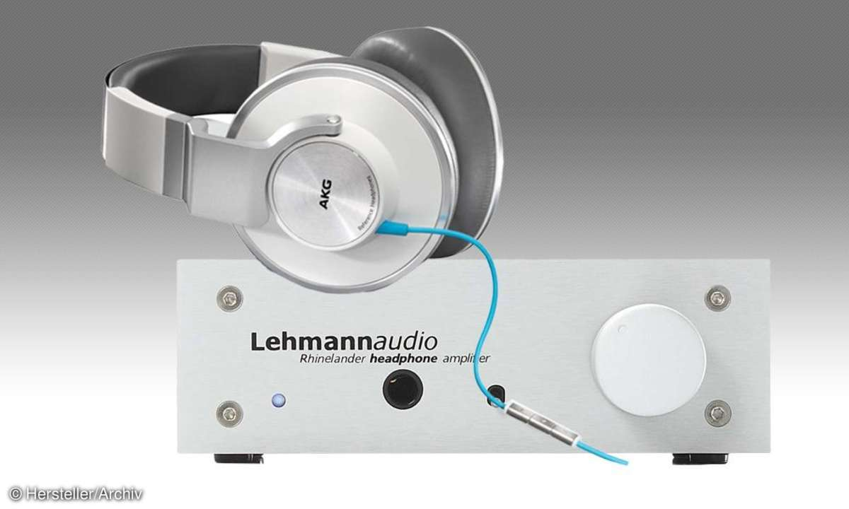 Kopfhörer und Kopfhörerverstärker