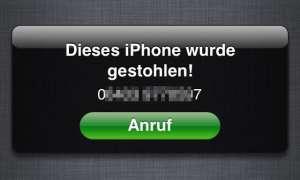 iPhone gestohlen