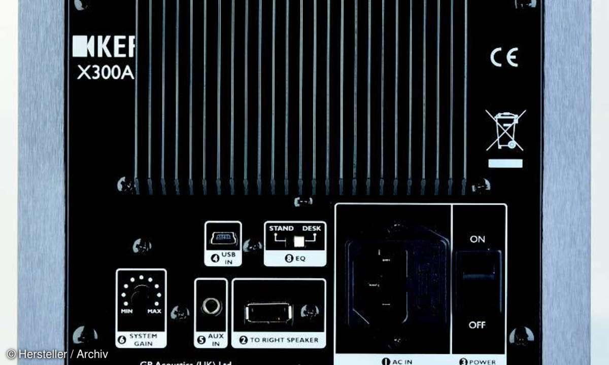 KEF X300A - Box