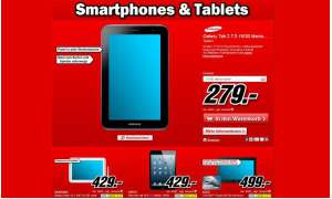 Media Markt, Tablet